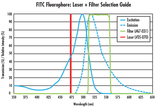 fig 2 Fluorescence Imaging with Laser Illumination